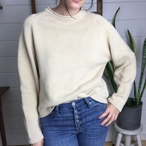 Woolrich Cotton Sweater, Possibly Vintage